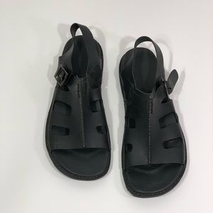 Keen Men's Alman Sandal in Black Size 10